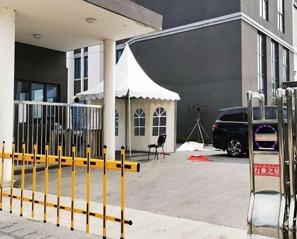 Enterprise Restart Entry Tent