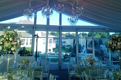 Wedding tents are mainly used  ...