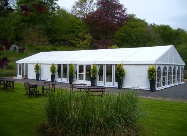 The rugby tent venues provided ...