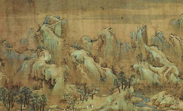 花鸟画技法教学《江山秋色图》