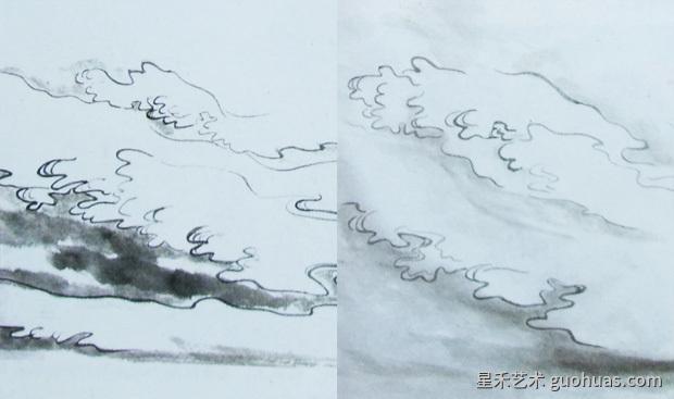 怎样画云图12