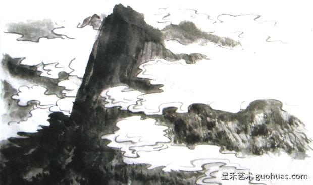怎样画云图14