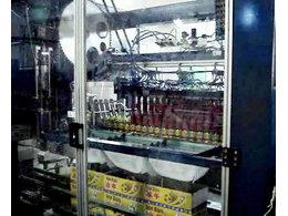 侧进链轮式装箱机在中山珠江饮料投入生产
