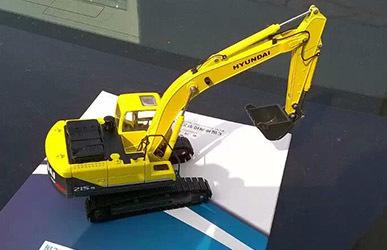 神洲挖掘机模型 挖掘机模型现代215-9