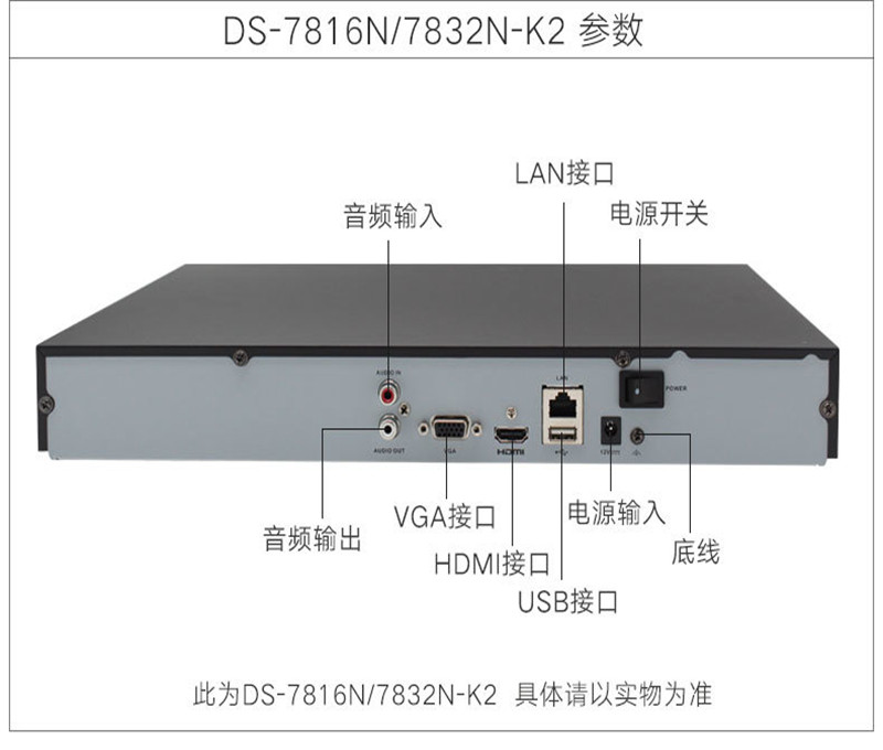 ???礑S-7804N-K1硬盤錄像機?