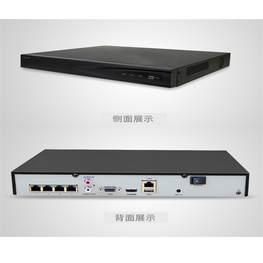 海康威視4路硬盤錄像機 DS-7804N-K1/4P POE網絡家用電棍錄像機