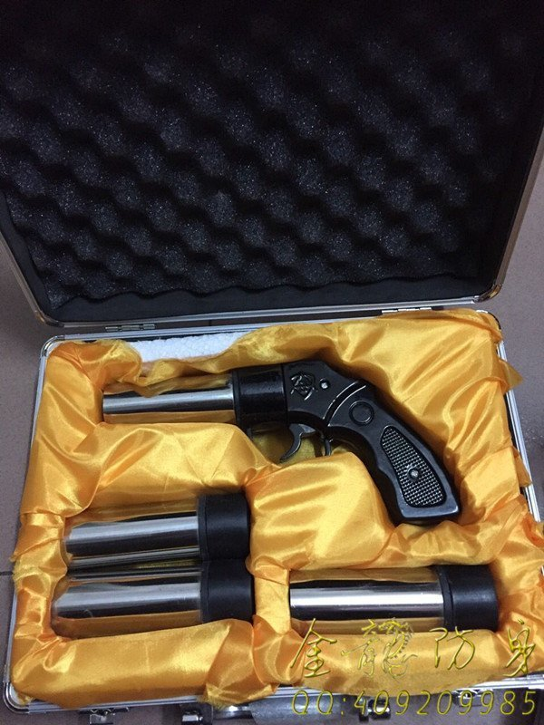 新款精裝金屬防暴滅火槍