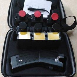 40米橡皮弹和催泪弹多功能远程防暴电击枪