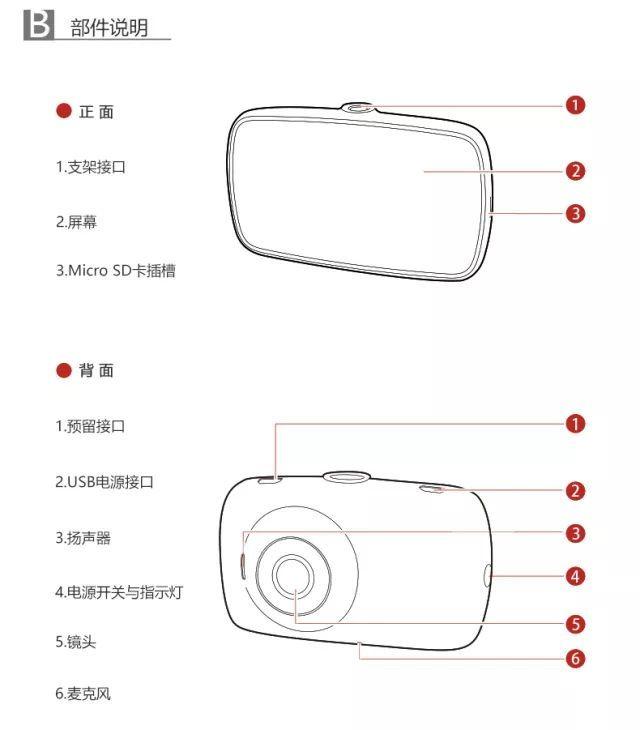 海康威视慧眼C4行车记录仪