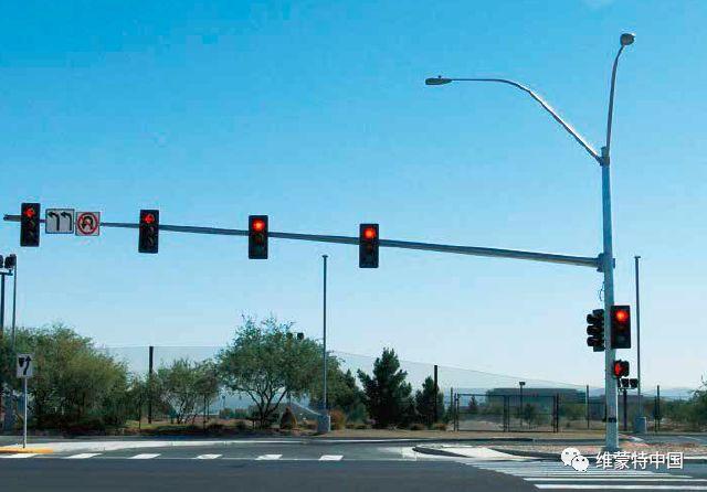 交通信号电棍杆