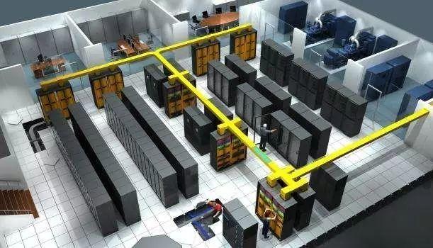 网络机柜理线工艺