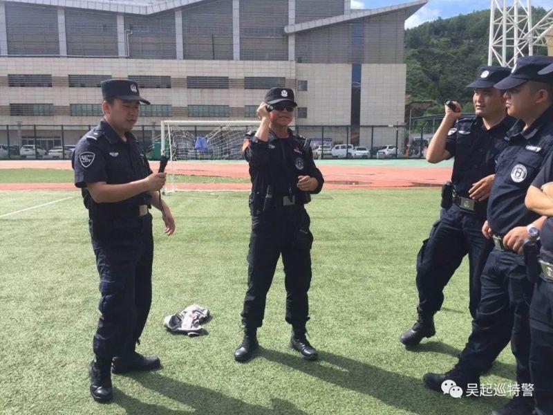 特警组织规范使用武器警械培训活动