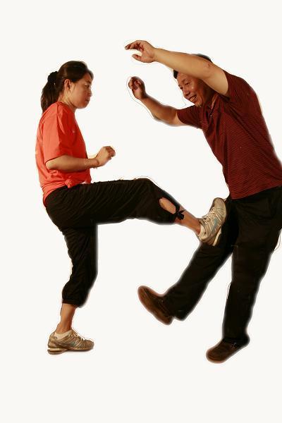 女子自卫防身之踢腿攻击