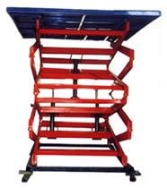 液压升降机中液压油缸的原理