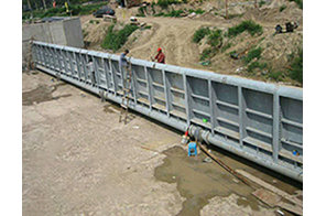 水利工程平面钢制闸门案例