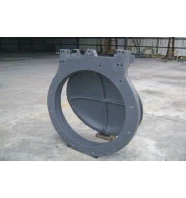 圆形钢制闸门