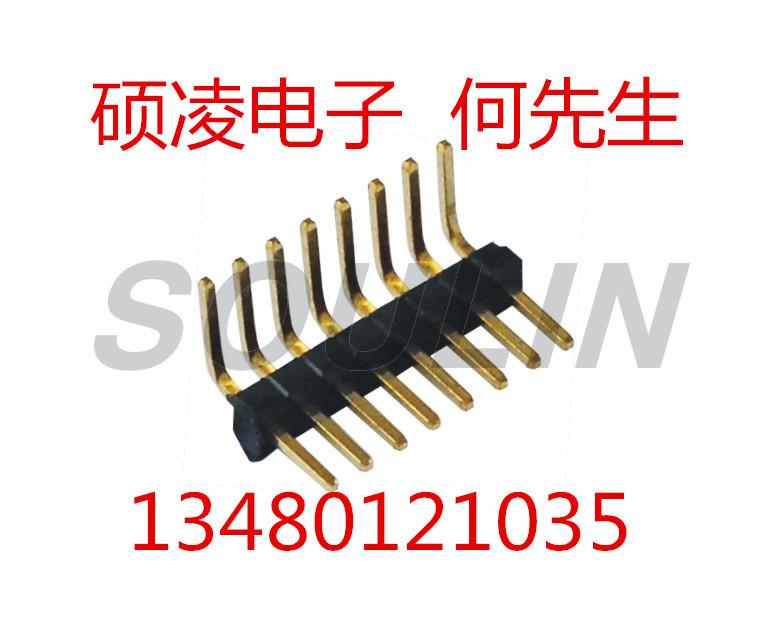 排母工厂 FH1.0MM,  2xNPin H2.1 W2.54 带内柱 SMT  PW3.2 3.5 4.1