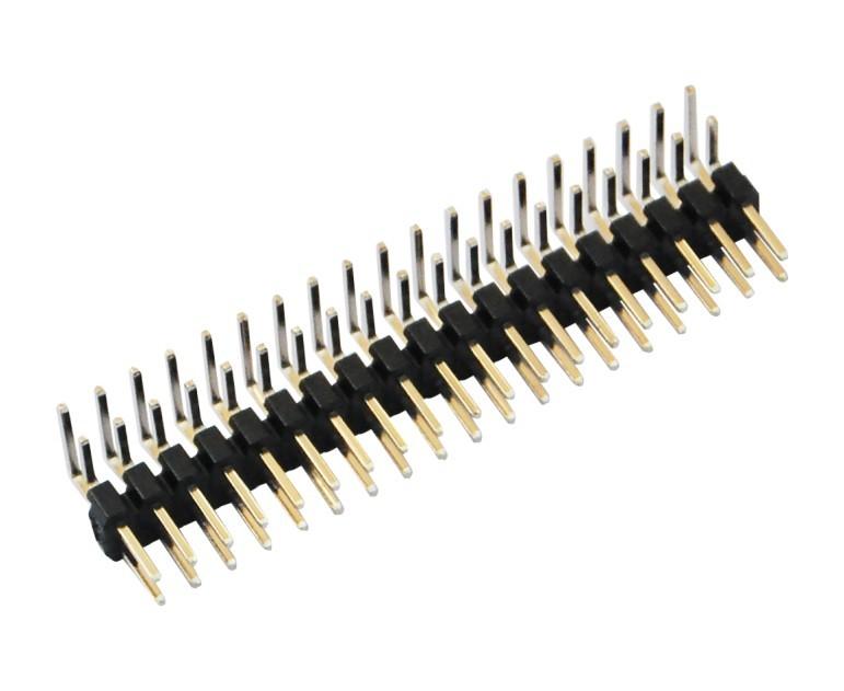 2.0mm间距90度排针