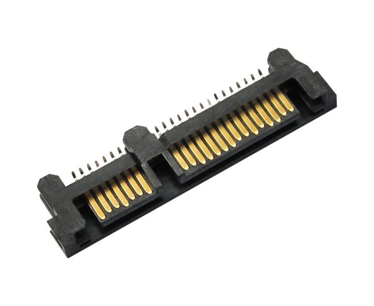 SATA连接器,SATA 7+15 夹角公座