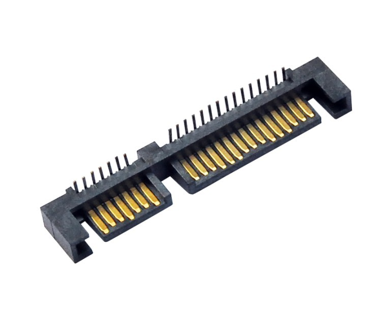 SATA连接器 7+15  90度 公座