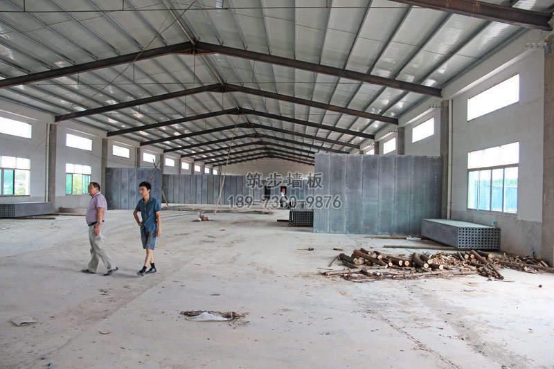 浏阳食品厂厂房轻质隔墙板工程
