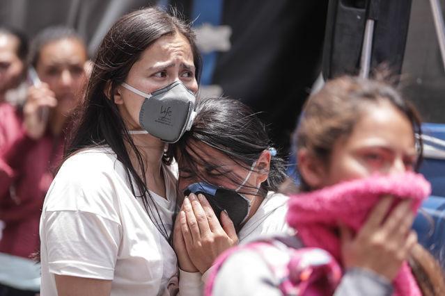 哥伦比亚暴动