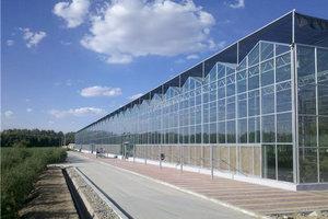 高标玻璃温室大棚