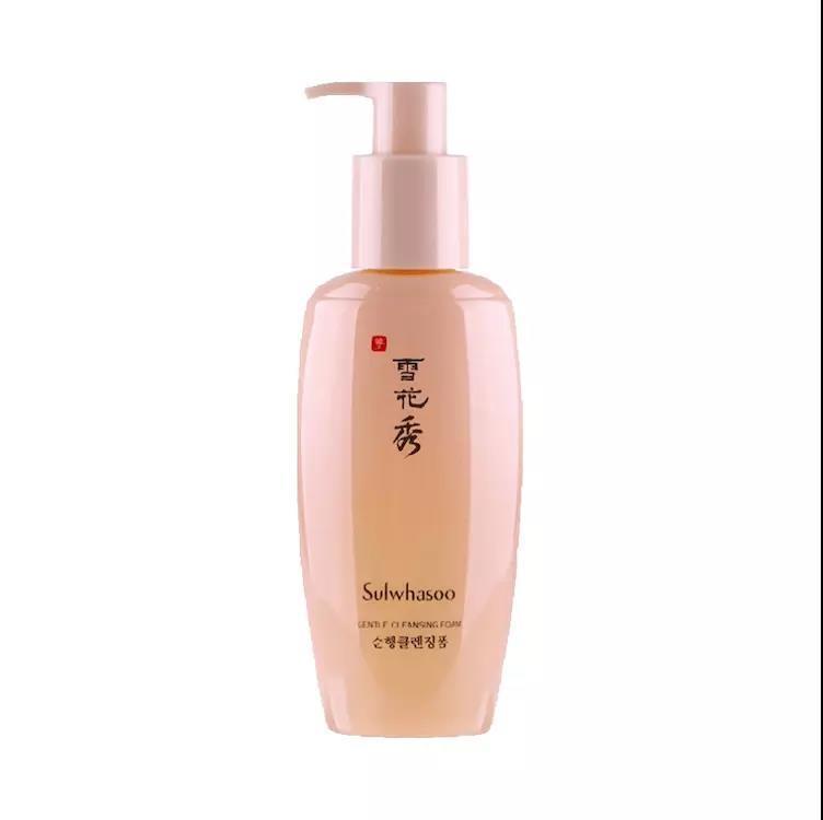 【香港直邮】韩国 雪花秀 顺行柔和洁面泡沫洗面奶 200ml