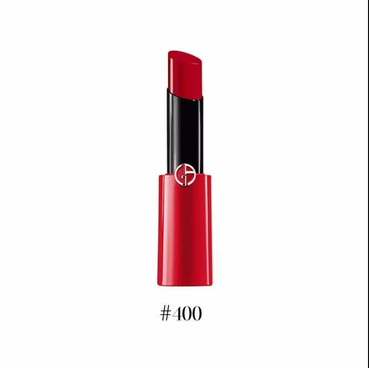 【香港直邮】意大利 ARMANI/阿玛尼 ECSTASY SHINE细管唇膏 #400 3G