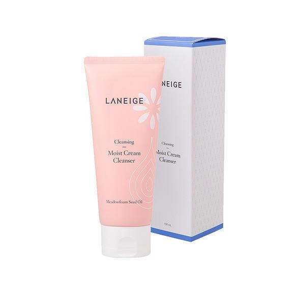 【海外直邮】韩国 LANEIGE 兰芝 粉色滋润温和保湿洗面奶150ml(2018新款)