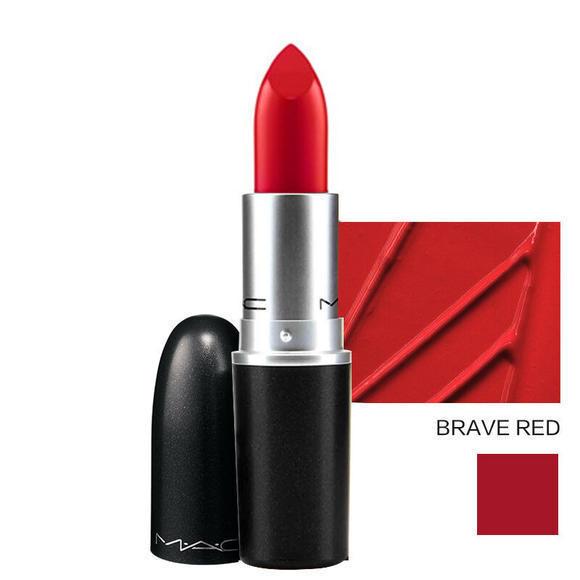 【香港直邮】加拿大 MAC/魅可 子弹头 口红唇膏 BRAVE RED