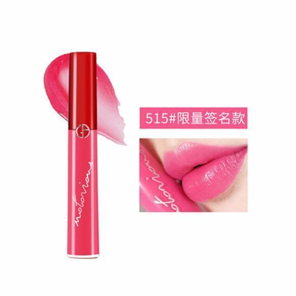 【香港直邮】意大利 ARMANI/阿玛尼 臻致丝绒红管唇釉 #515