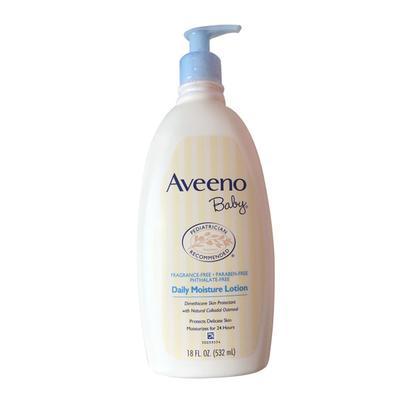 【香港直邮】美国艾维诺Aveeno婴幼儿天然燕麦保湿润肤乳液532ml
