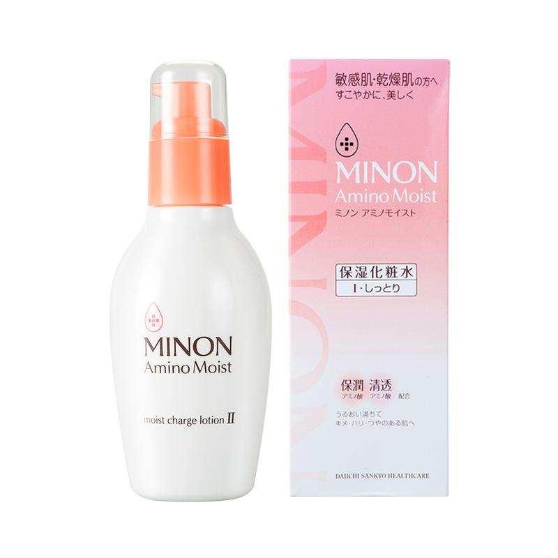 【香港直邮】日本蜜浓 MINON 氨基酸保湿化妆水清爽型Ⅰ号 150毫升