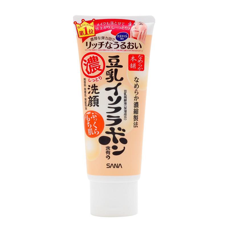 日本 SANA 莎娜代理  莎娜豆乳浓润美肌洗面奶150g货源