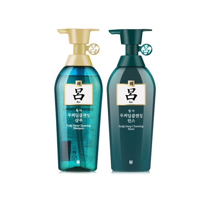 韩国RYO代理 RYO绿吕洗发护发套装货源