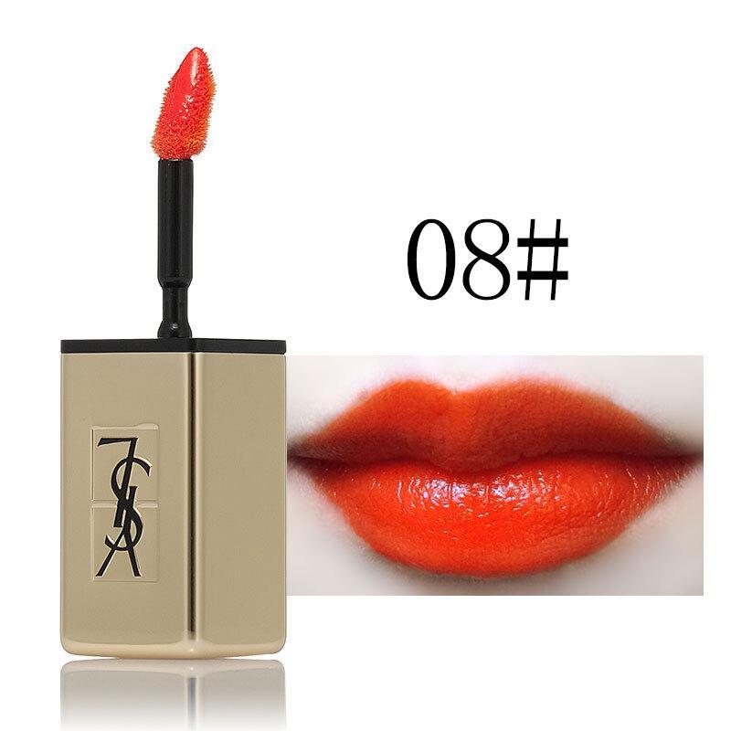 法國圣羅蘭代理 圣羅蘭緞面鏡光唇釉8#貨源