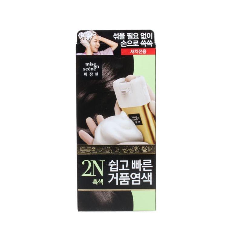 韩国爱茉莉代理 爱茉莉泡沫染发剂2N货源