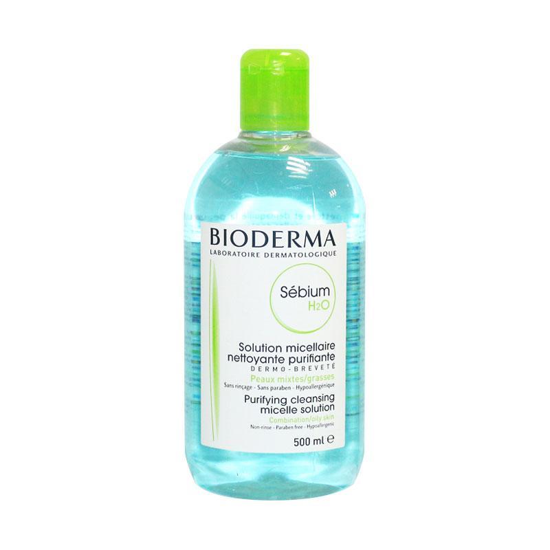 【香港直邮货源】代购法国贝德玛Bioderma蓝色控油保湿卸妆水净妍洁肤液500ml