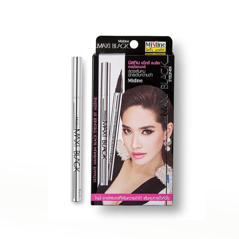 【香港直邮货源】代购泰国Mistine银管眼线笔01#