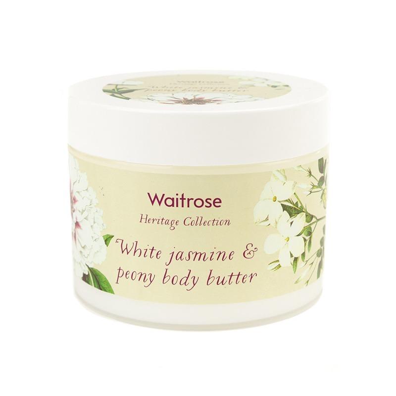 保税货源 代购英国Waitrose白茉莉芍药身体润霜330ml