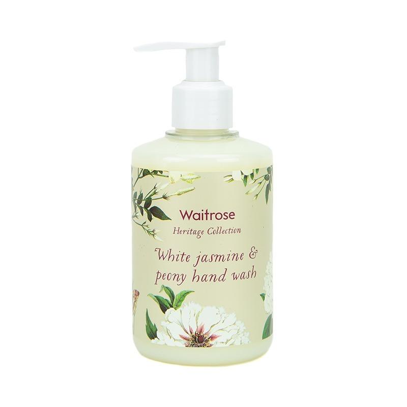 保税货源 代购英国Waitrose白茉莉芍药洗手液250ml