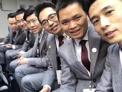 重庆职业装定制案例,员工职业装定制案例