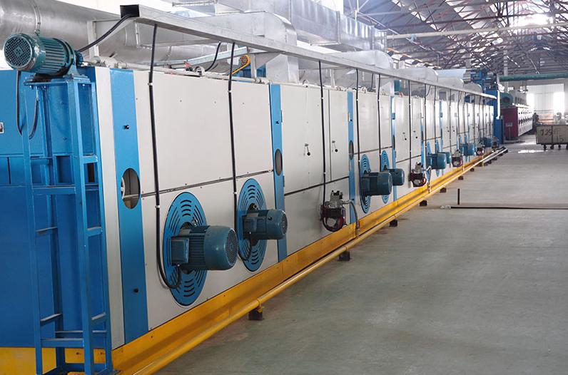 高温拉幅定型机的原理及锅炉型定型机