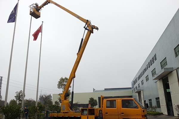 28米高空车工程案例