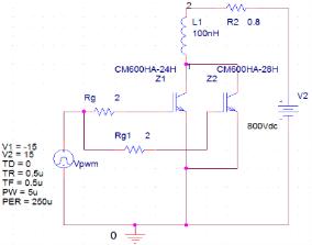 图2 仿真电路图