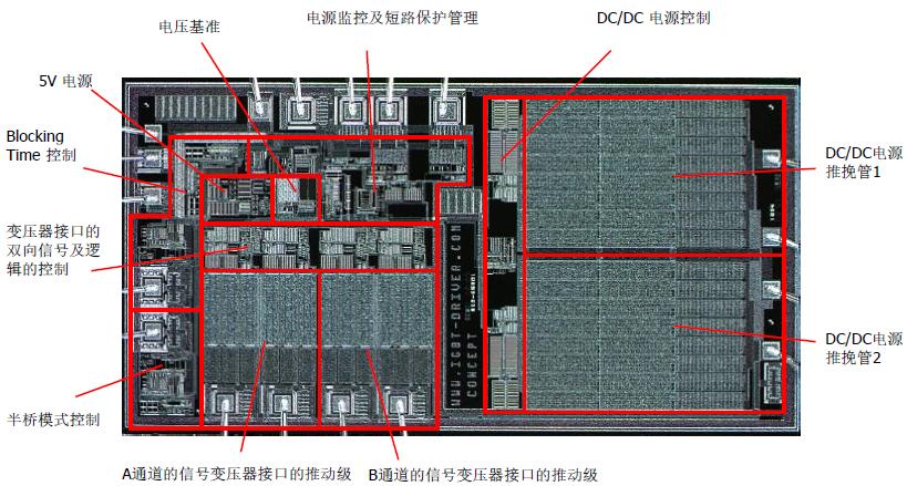 SCALE-2原方芯片的照片(LDI)