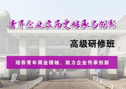 北京大学青年企业家历史传承与 ...