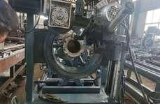 鋼管焊接法蘭設備,全自動鋼管法蘭焊接設備