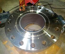 Incoloy800HT堆焊法兰